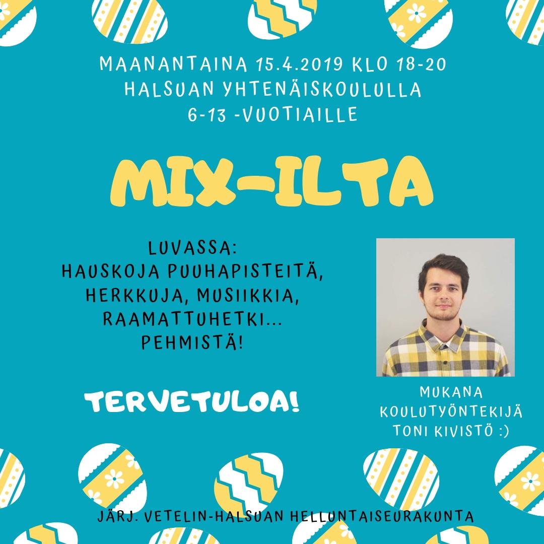 mix-ilta 15.4.19